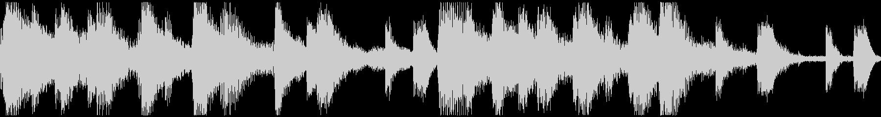 <ショートループ> ピアノ⑨+ビートBの未再生の波形