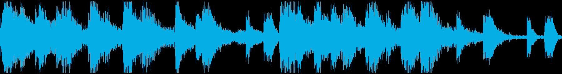<ショートループ> ピアノ⑨+ビートBの再生済みの波形