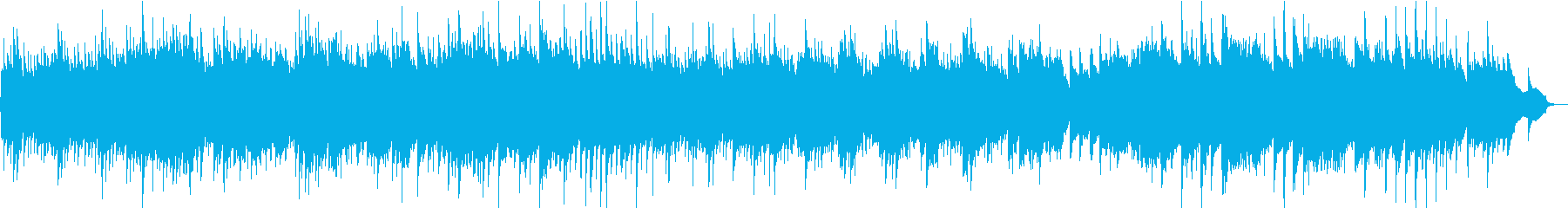 アラベスク第1番・アコギの再生済みの波形