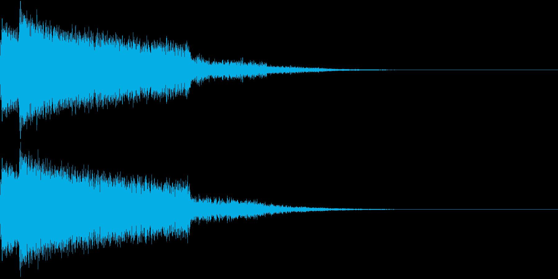ピキューン ピキーン ズキューン 2の再生済みの波形