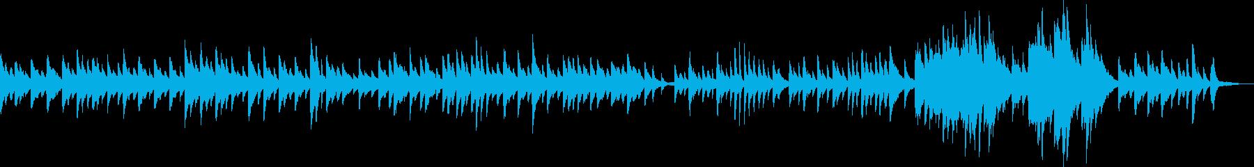 ゆったり過ごす静かなクリスマス(ピアノ)の再生済みの波形