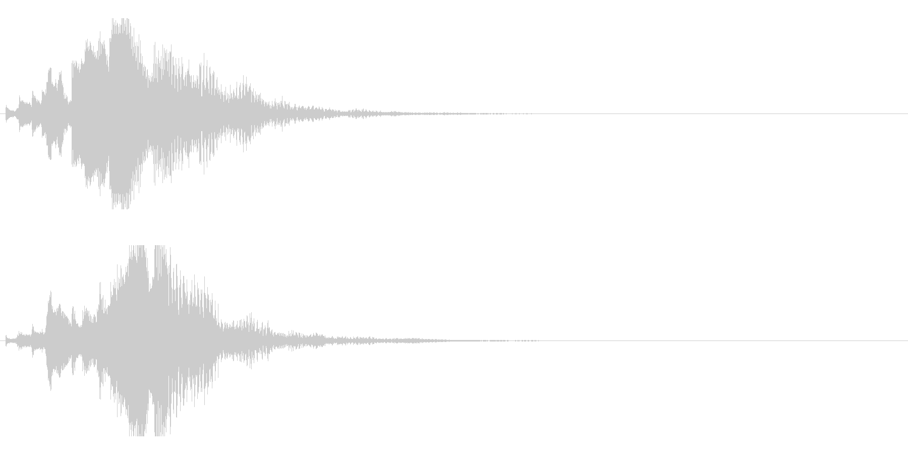 ハープ・下降_5-3の未再生の波形
