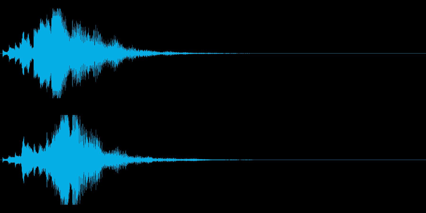 ハープ・下降_5-3の再生済みの波形