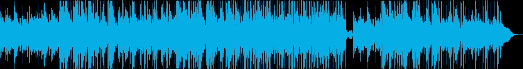 心温まるアコースティックポップスの再生済みの波形