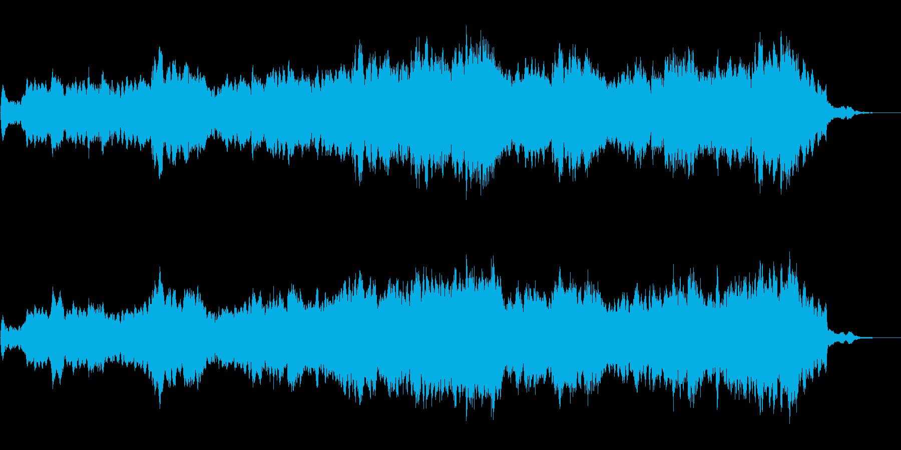 ストリングスだけの曲ですの再生済みの波形