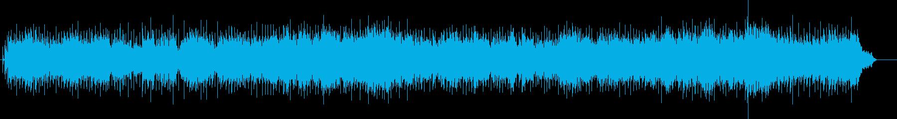 高揚するアメリカン・ロッカ・バラード風の再生済みの波形