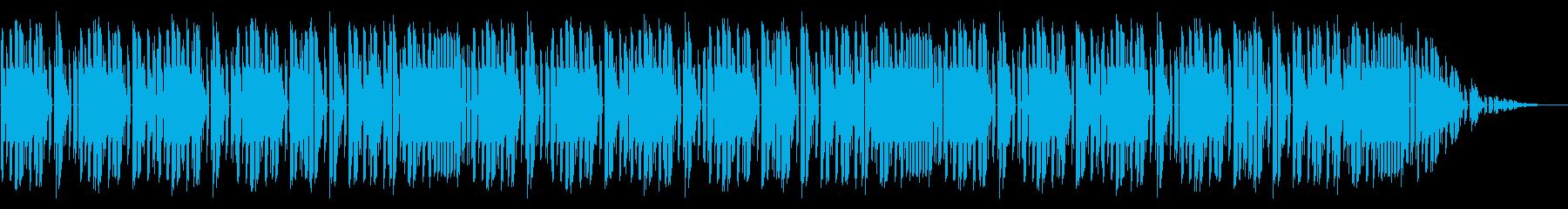 NES レース A01-2(タイトル フの再生済みの波形
