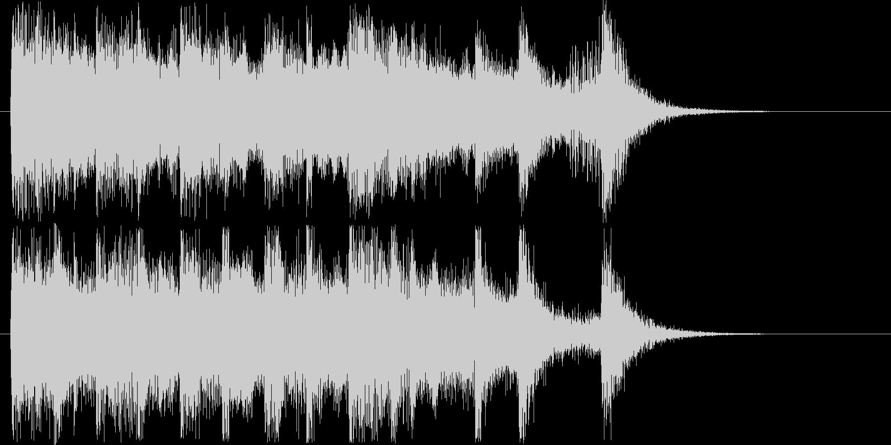 楽しげなオーケストラシンセの未再生の波形