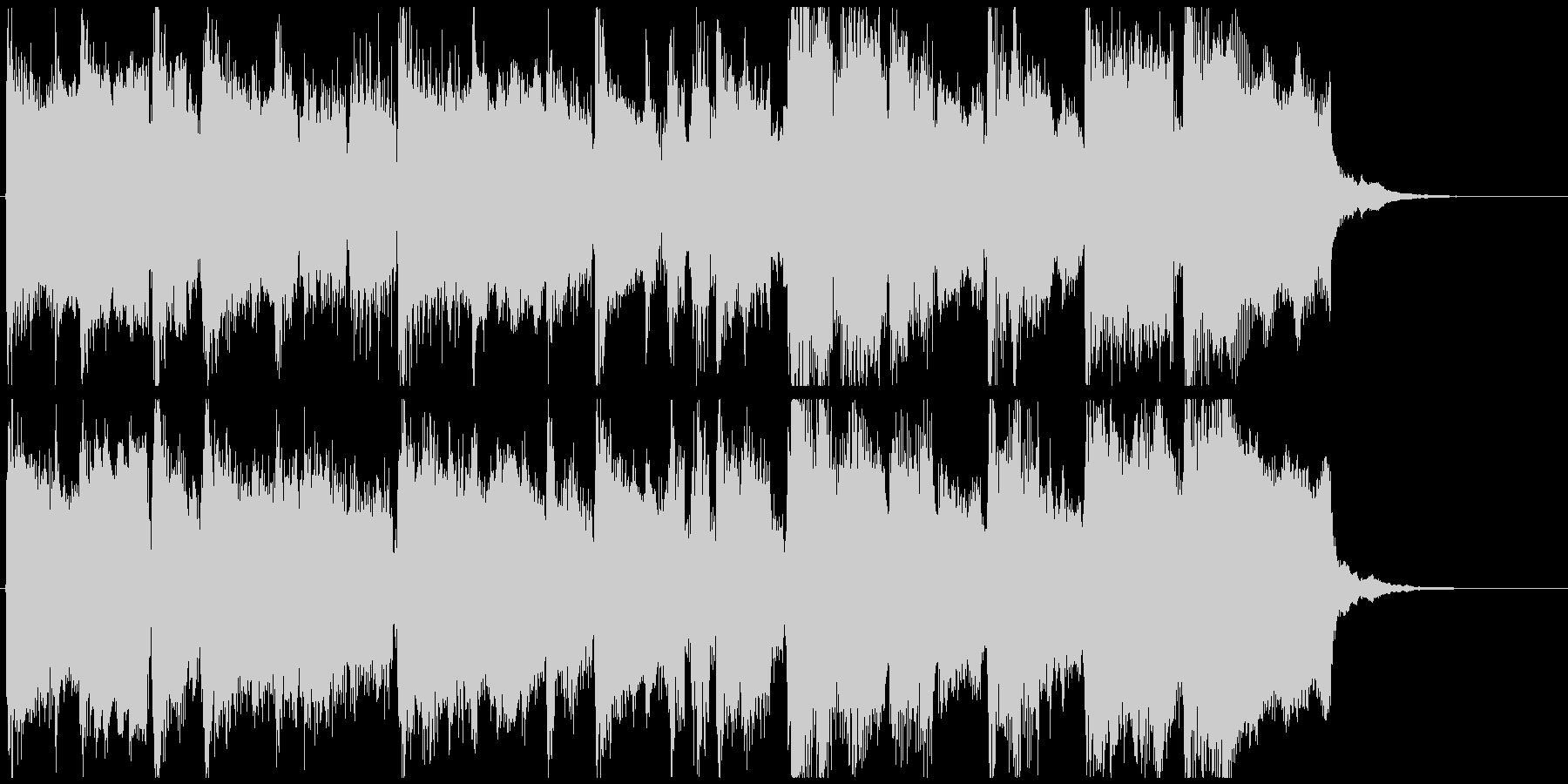 ブリキな雰囲気のトイ楽器ジングル◆15秒の未再生の波形