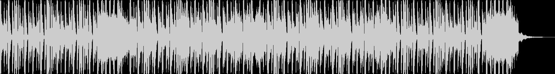 コミカルでかわいいエレクトロダンスの未再生の波形