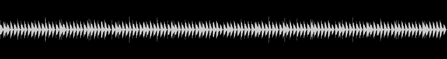 Vtuberの配信BGMの未再生の波形