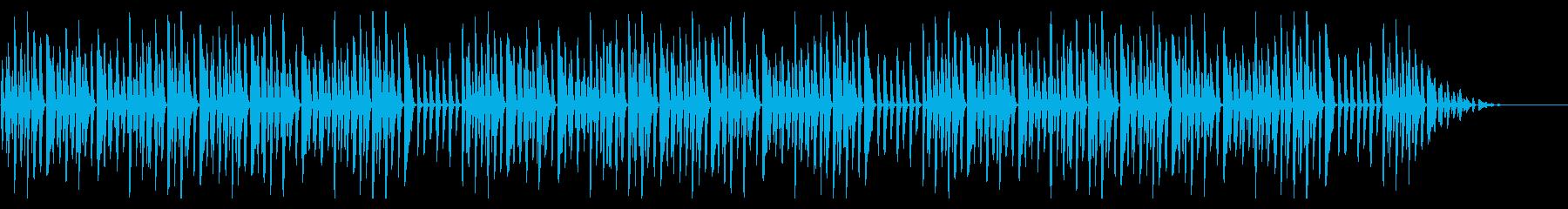 幸せなら手を叩こう シンプルなピアノソロの再生済みの波形