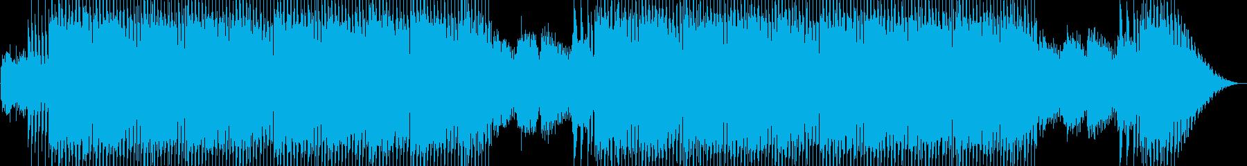 近未来的なシンセポップテクノ系の再生済みの波形