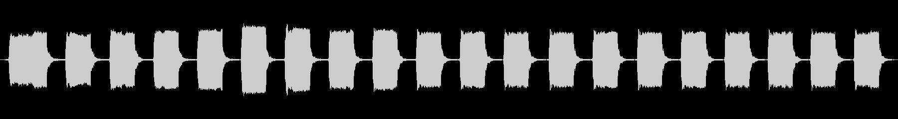 アラーム、部屋、ビープ音、のぞき見...の未再生の波形