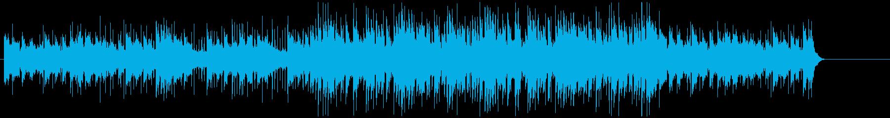 爽やかでかわいいテンポの良いBGMの再生済みの波形