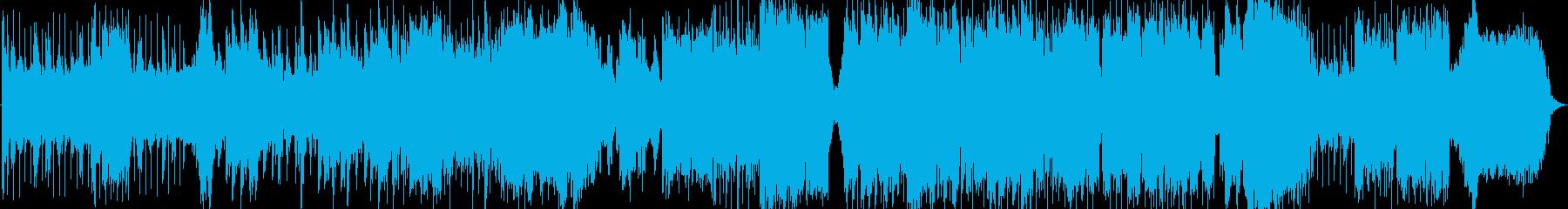 生演奏《 冒険感のある勇ましいオカリナ曲の再生済みの波形