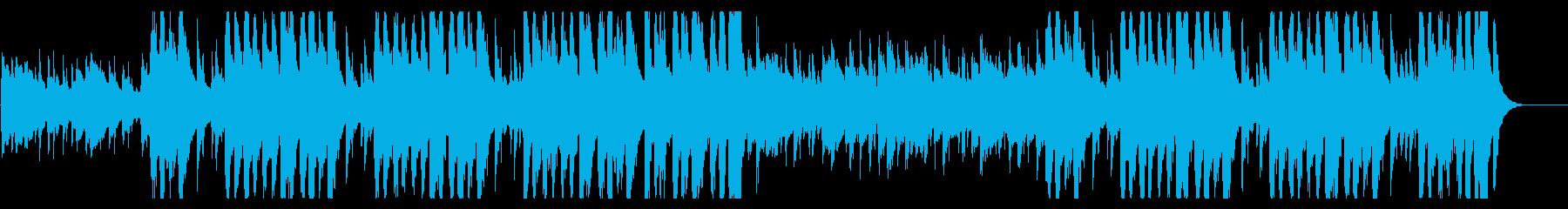 口笛とウクレレのコミカルで楽しい曲の再生済みの波形