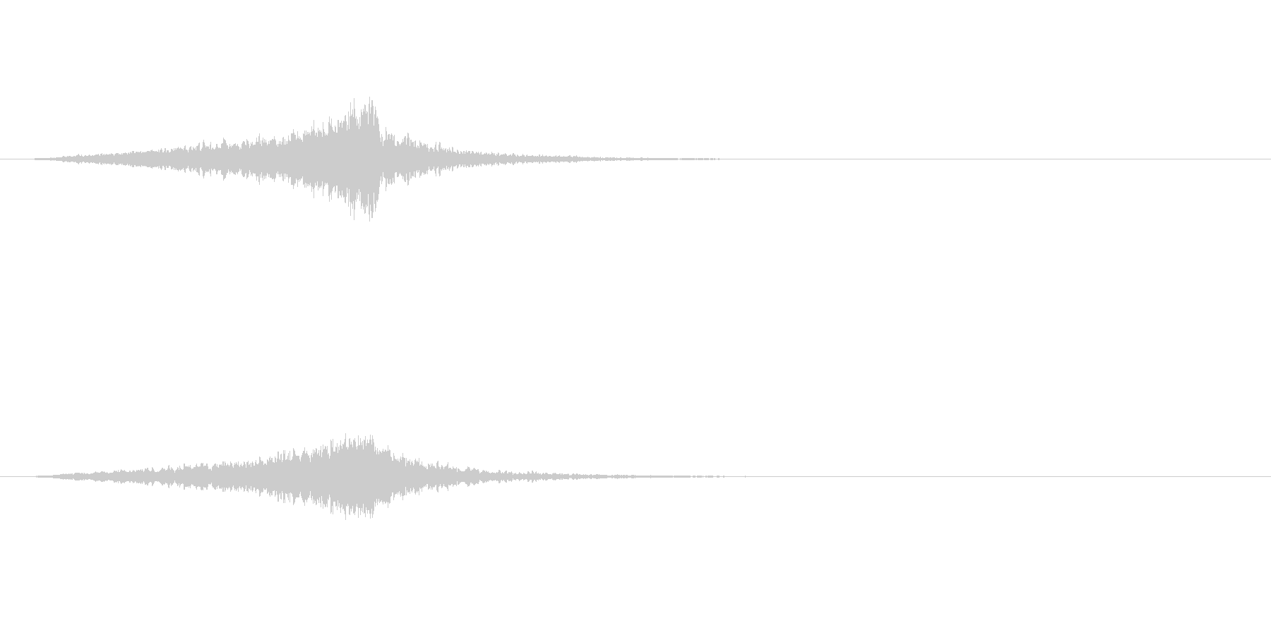 ヴァイオリン、クレッシェンドリマイ...の未再生の波形