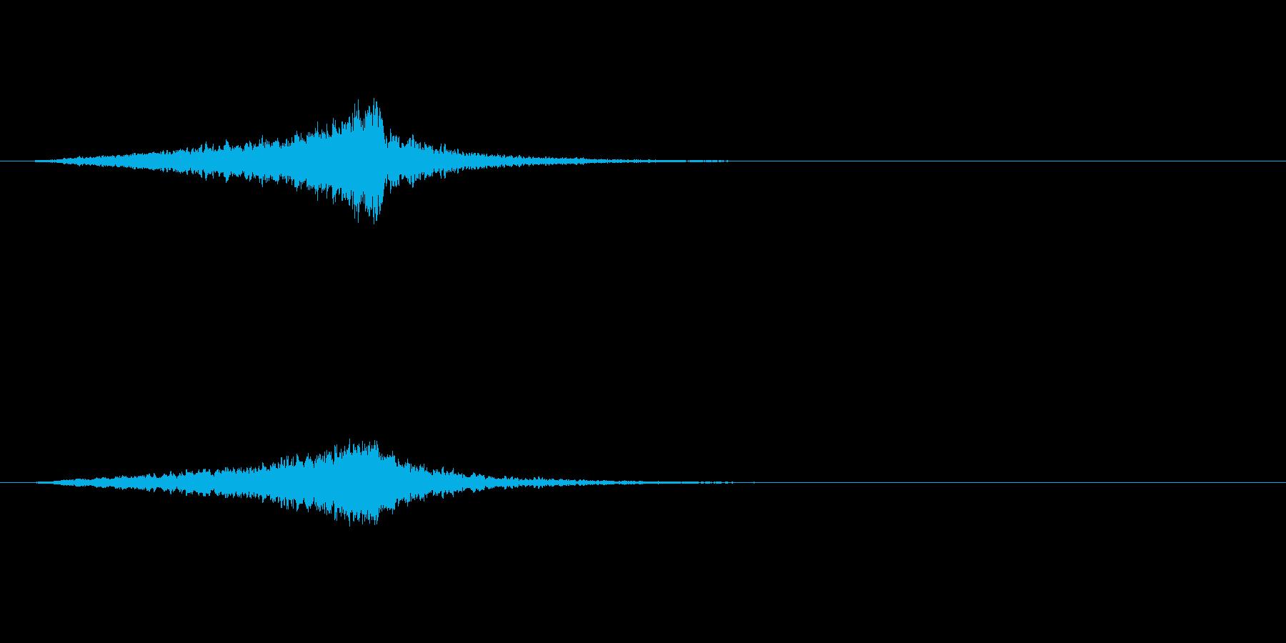 ヴァイオリン、クレッシェンドリマイ...の再生済みの波形