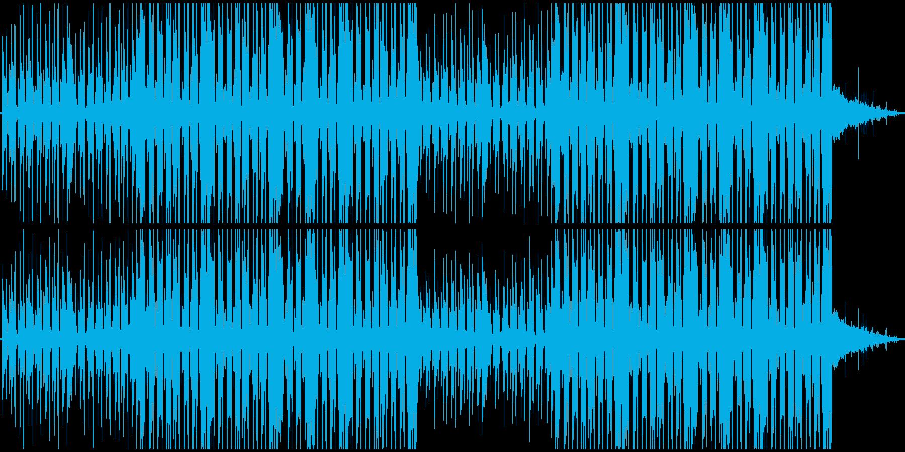 ギターがオシャレなローファイヒップホップの再生済みの波形