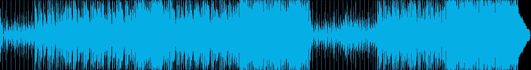 Bright guitar pop's reproduced waveform
