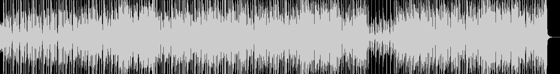 CM向けファンクトラックの未再生の波形