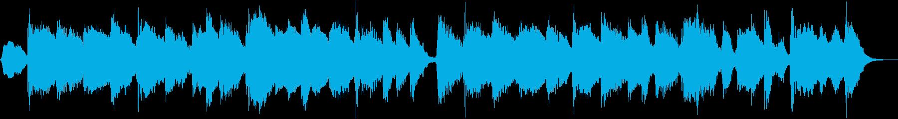 クラリネットのまったりとしたBGMの再生済みの波形