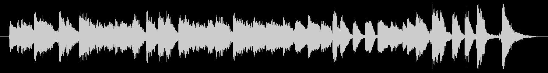 ジングル 楽しいジャズピアノトリオ の未再生の波形