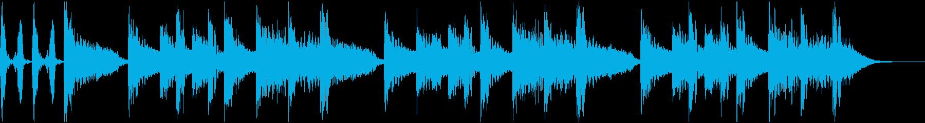 ラッパー、DJ風 サウンドロゴ、ジングルの再生済みの波形