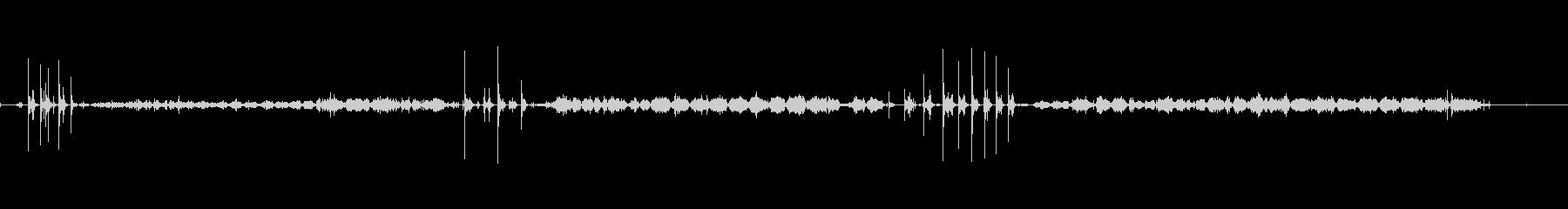 塗装-ローラー付き-内部-楽器の未再生の波形