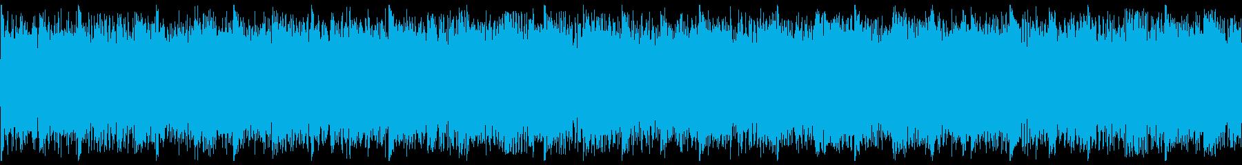未来的で攻撃的なトラック-ループ1の再生済みの波形
