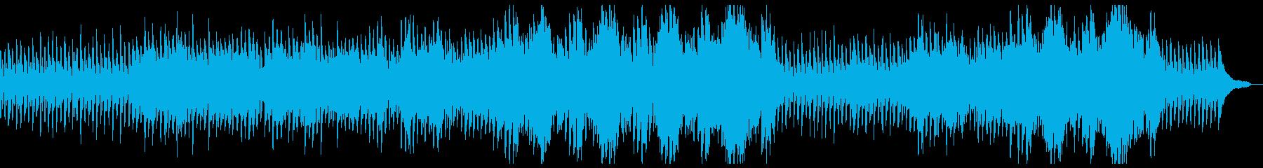 時間の経過・優しい思い出:高音の弦抜きの再生済みの波形