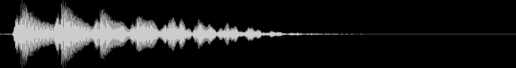 トゥルリン(上昇音 パズル コミカル)の未再生の波形