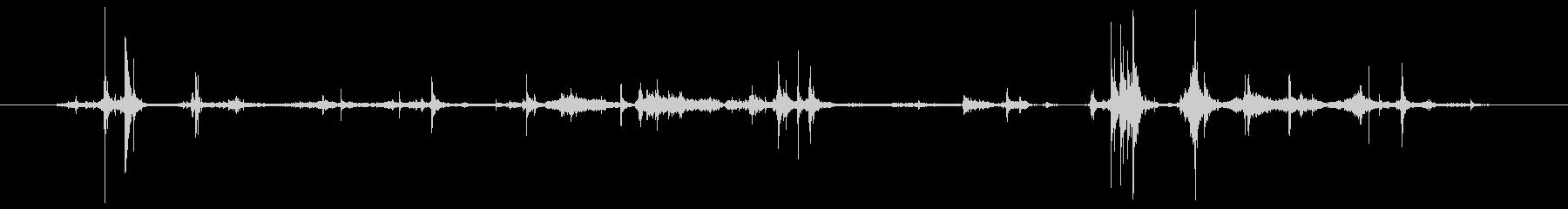 標準レター封筒:マルチシートレター...の未再生の波形