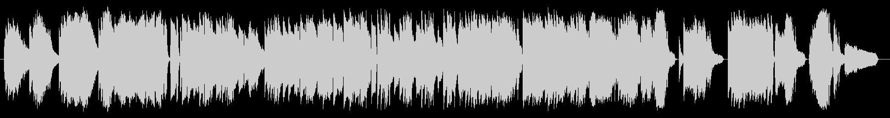 映画「カサブランカ」、ピアノソロの未再生の波形