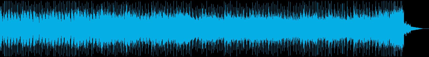 報道系のニュース番組用BGMの再生済みの波形