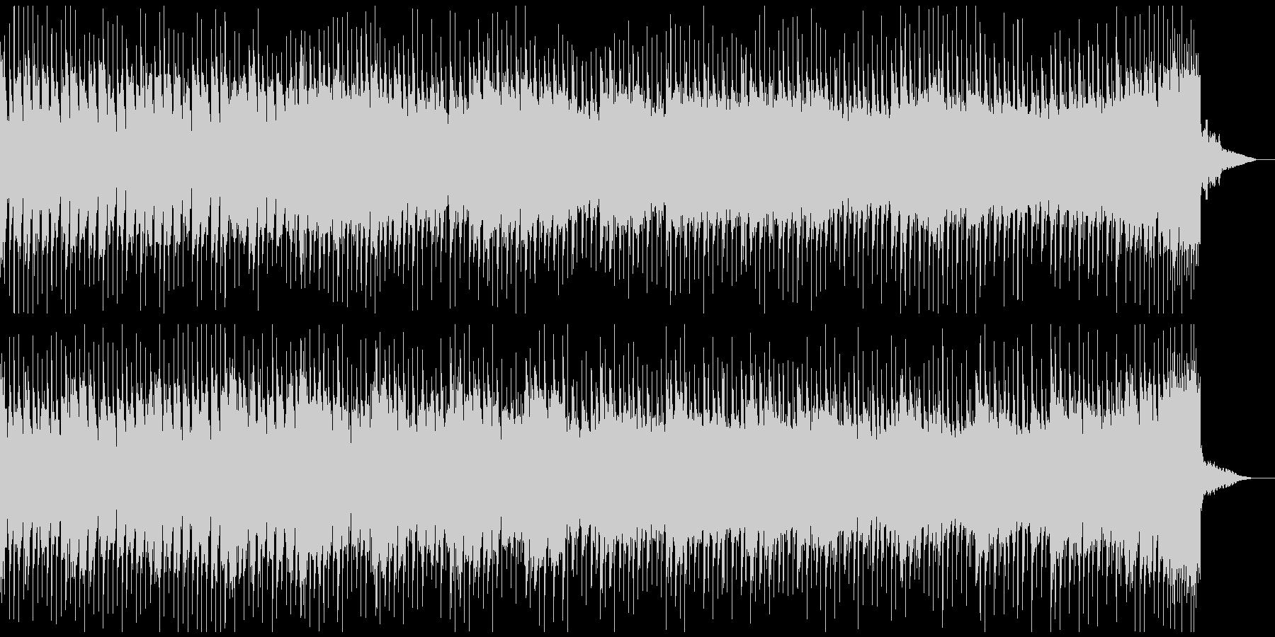 報道系のニュース番組用BGMの未再生の波形
