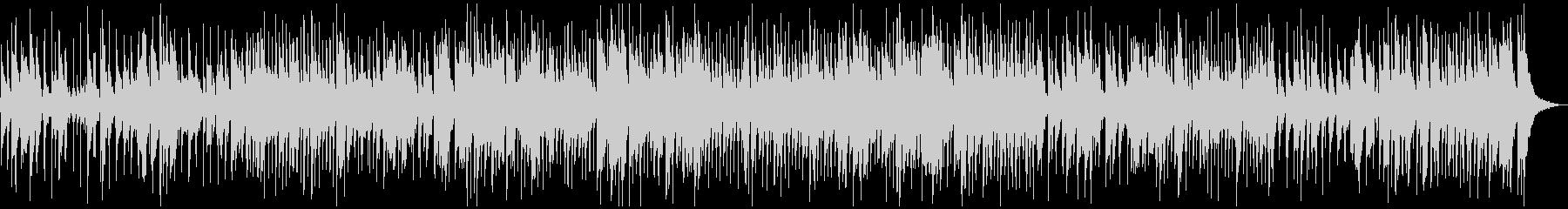テナーサックスソロ、スイングジャズBGMの未再生の波形