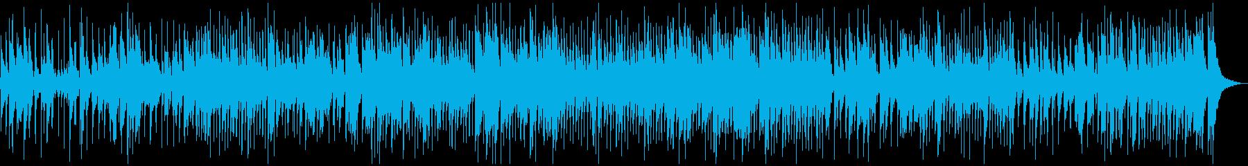 テナーサックスソロ、スイングジャズBGMの再生済みの波形
