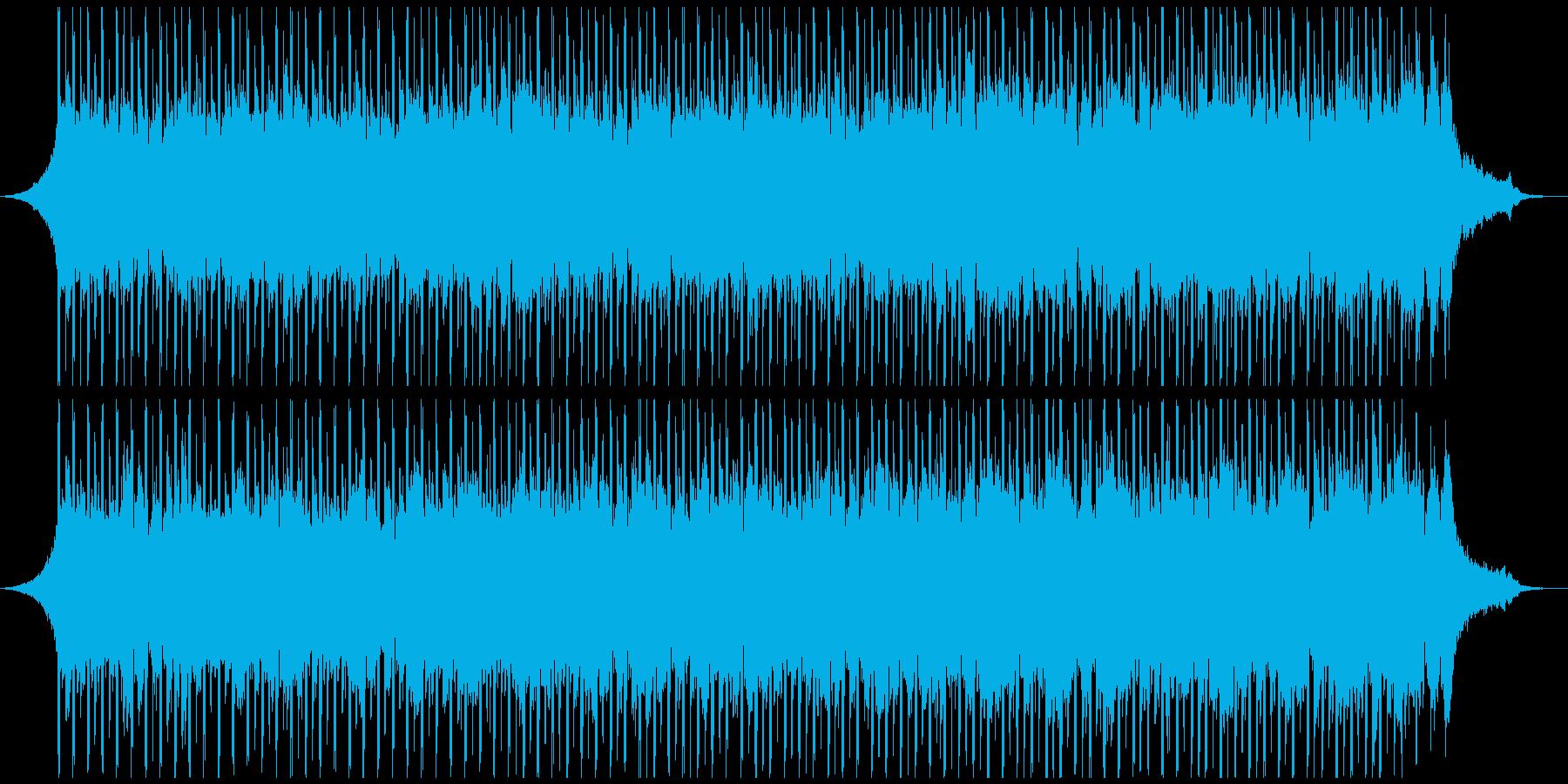 医療(60秒)の再生済みの波形