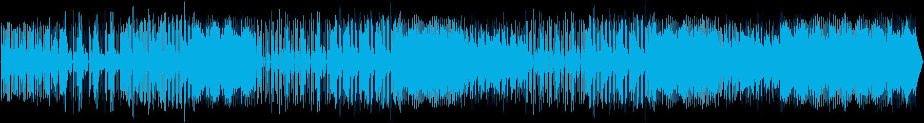 ピアノ、エレクトリック、アコーステ...の再生済みの波形