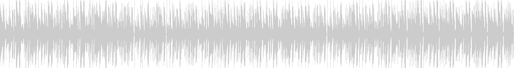 お洒落なジャズとベースのループBGMの未再生の波形
