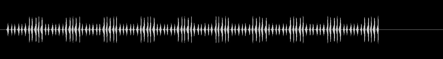 カートゥーンエフェクト、(木製パイ...の未再生の波形