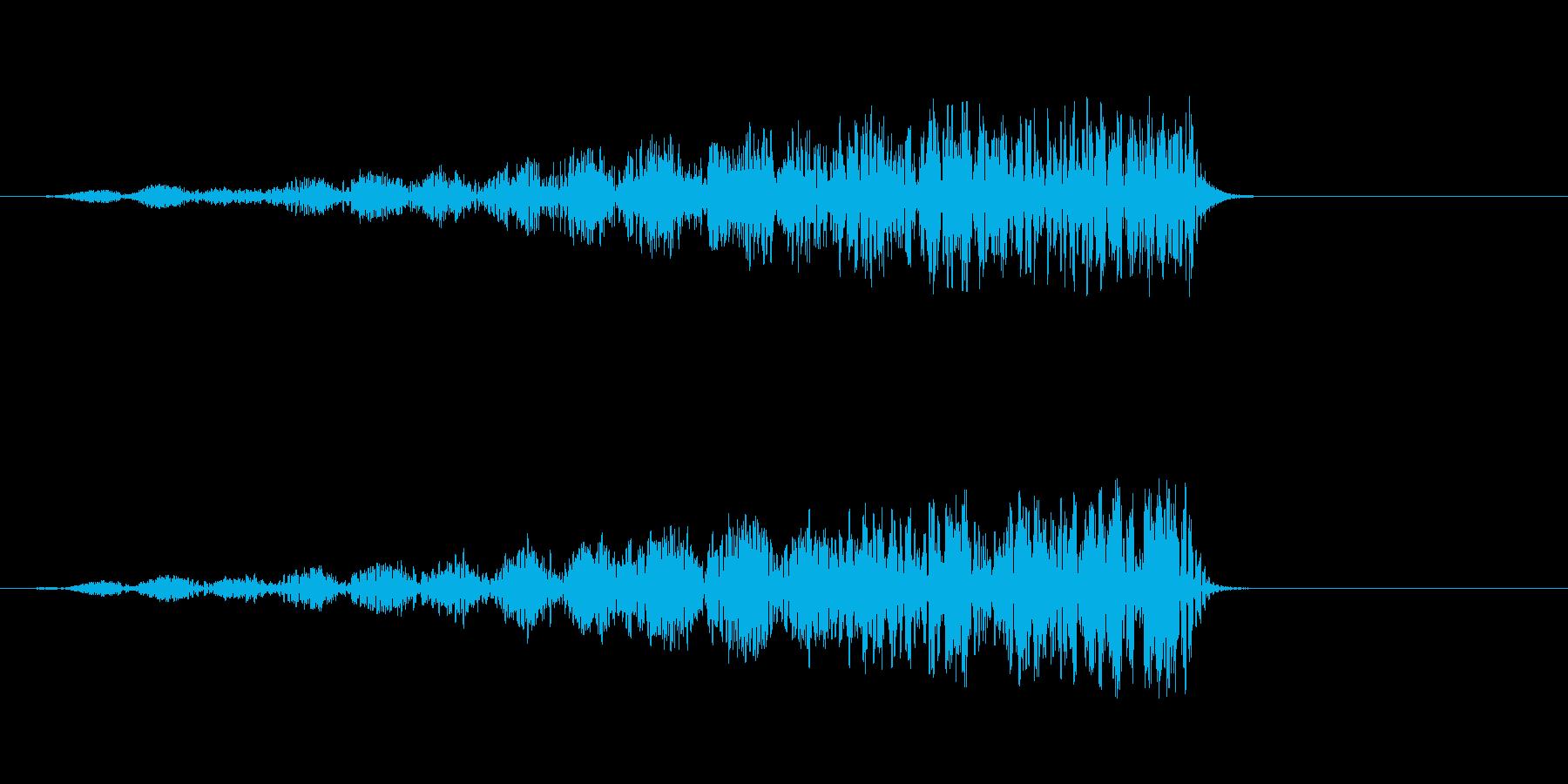 ディープリバースバズドローンの再生済みの波形