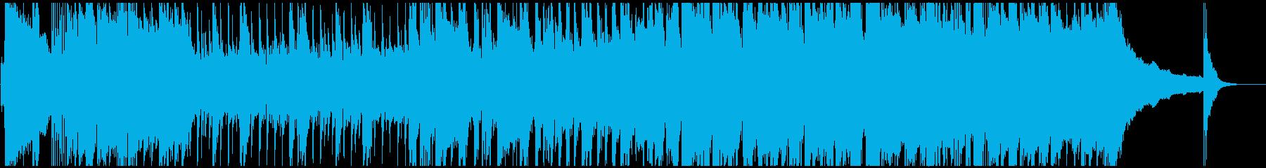 ライダー的な戦隊モノ ヒーロー 登場曲の再生済みの波形