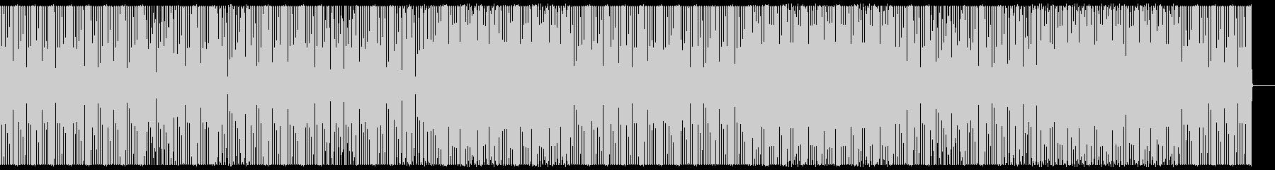 テクノ/クラブ/ビートトラック/#2の未再生の波形