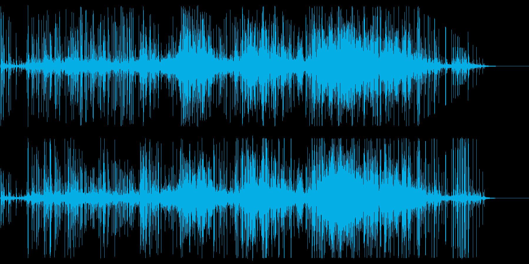 ロックスライド:光、残響の再生済みの波形