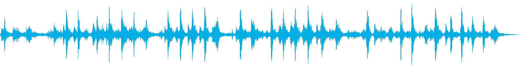 SLEIGH BELLS:連続ラン...の再生済みの波形