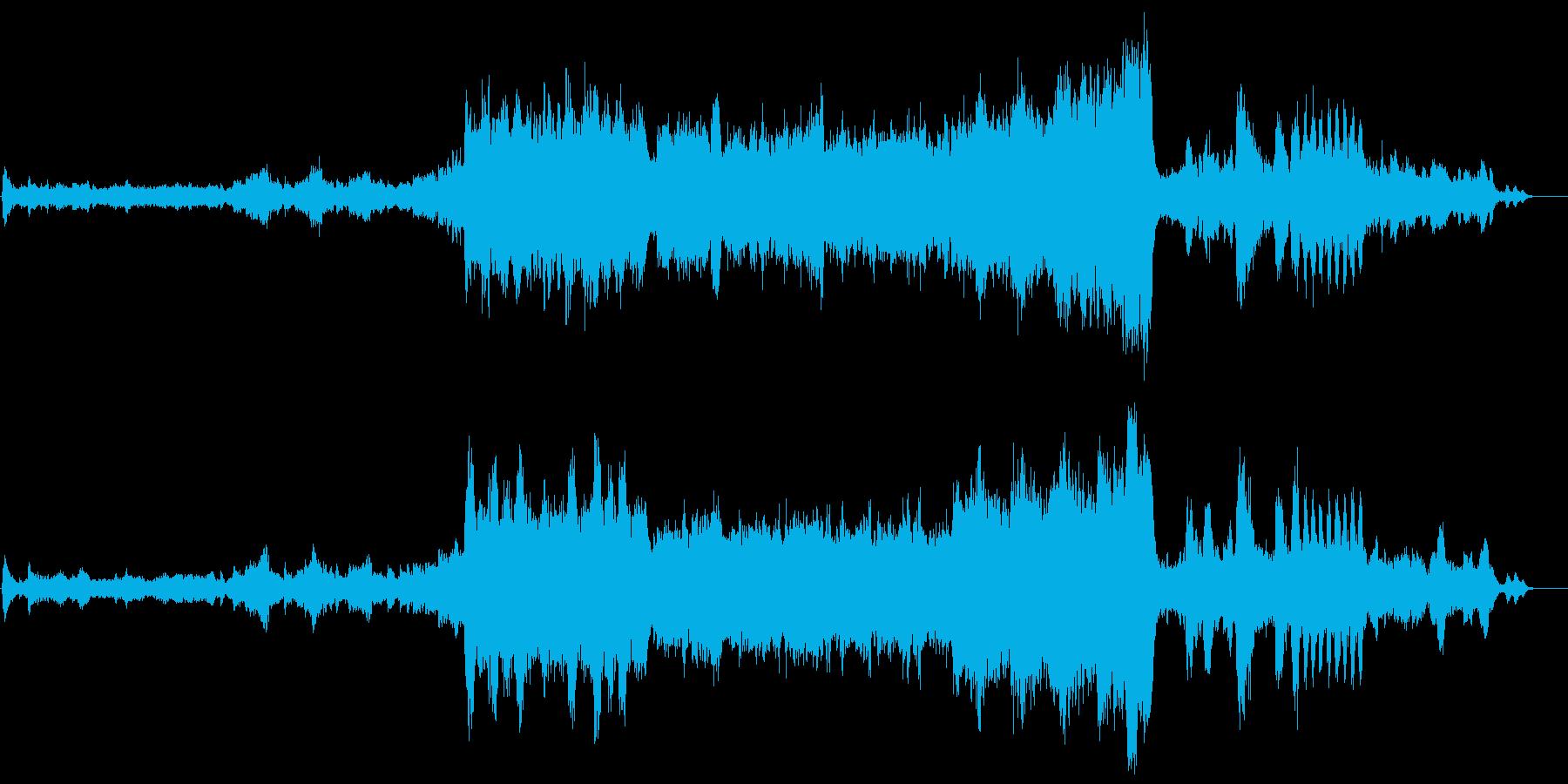白鳥の湖『情景』  オーケストラの再生済みの波形