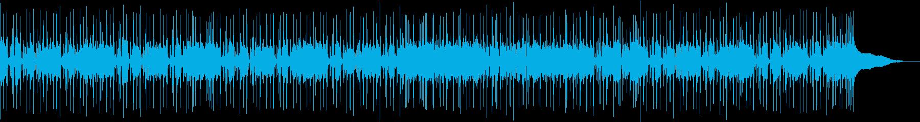 生演奏アコギで可愛いほのぼの(メロ無し)の再生済みの波形
